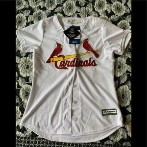Saint Louis Cardinals Women's Baseball Jersey
